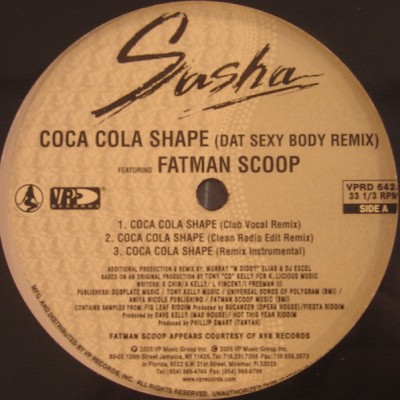 Sasha - Coca Cola Shape / Dat Sexy Body