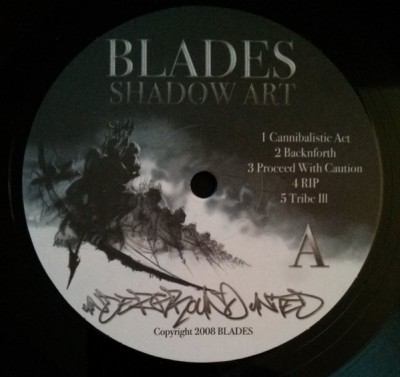 Blades (3) - Shadow Art