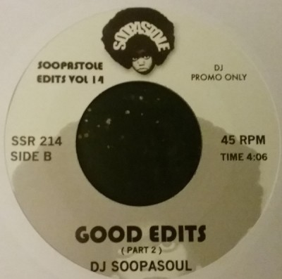 Soopasoul - Good Edits
