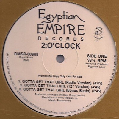 2:O'Clock - Gotta Get That Girl
