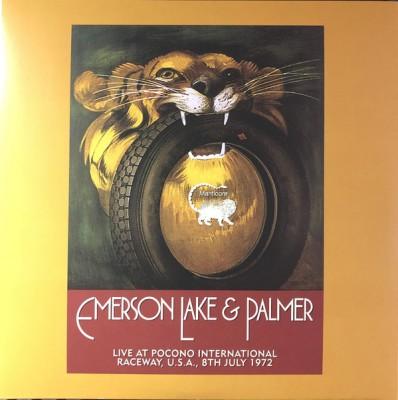 Emerson, Lake & Palmer - Live At Pocono International Raceway, U.S.A., 8th July 1972