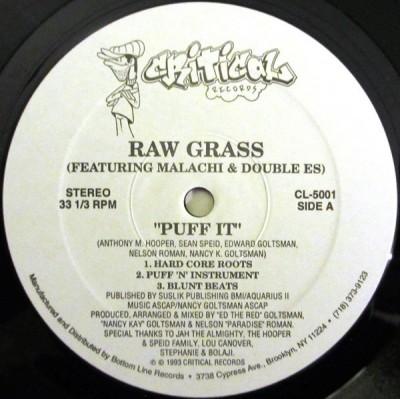 Raw Grass Featuring Malachi - Puff It