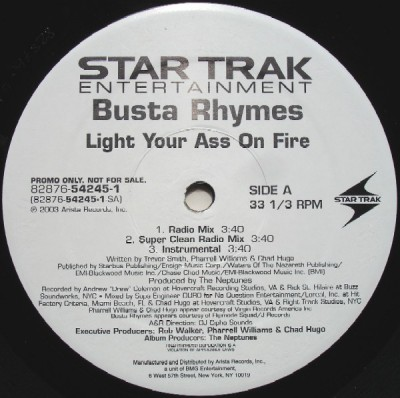 Busta Rhymes - Light Your Ass On Fire