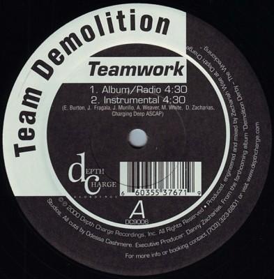 Team Demolition - Teamwork
