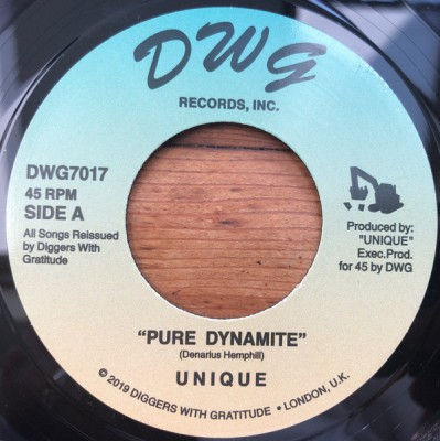 Unique - Pure Dynamite / Axe Maniac