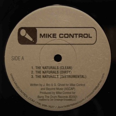 Mike Control - The Naturals / Brooklyn Ill Spitters