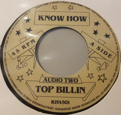 Audio Two - Top Billin