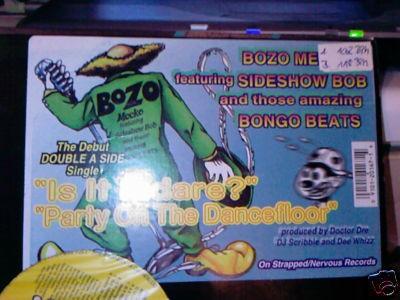 Bozo Meeko - Is It Indare? / Party On The Dancefloor