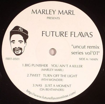 "Marley Marl - Future Flavas ""Uncut Remix Series Vol'01"""