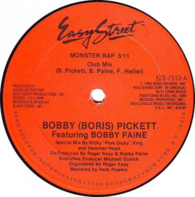 Bobby Pickett - Monster Rap