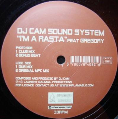 DJ Cam Sound System - I'm A Rasta