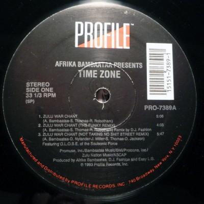 Time Zone - Zulu War Chant