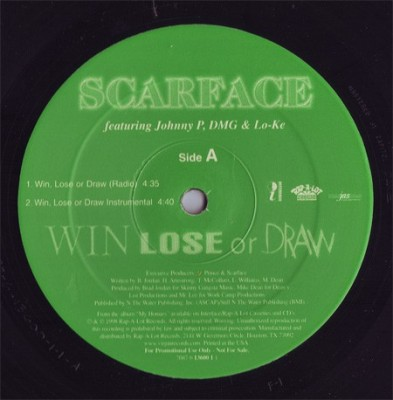 Scarface - Win, Lose Or Draw / Southside