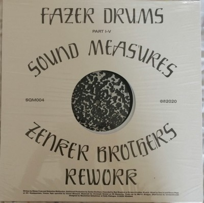 Fazer Drums - Sound Measures (Incl. Zenker Brothers Rework)