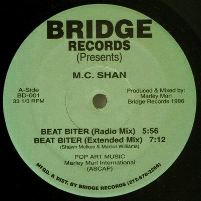 MC Shan - Beat Biter