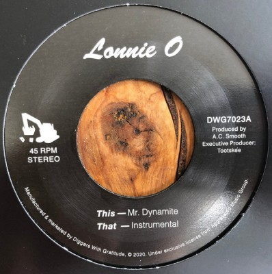Lonnie O - Mr. Dynamite