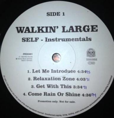 Walkin' Large - Self (Instrumentals)