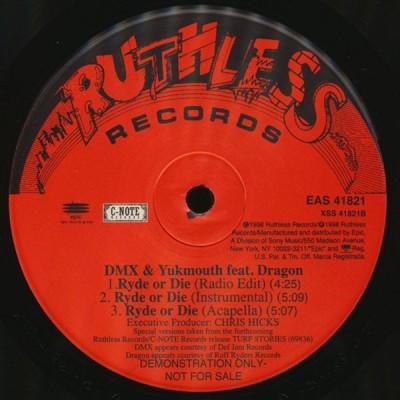 Mr. Nitro & Big Buccet / DMX & Yukmouth feat. Dragon - Hennessey / Ryde Or Die