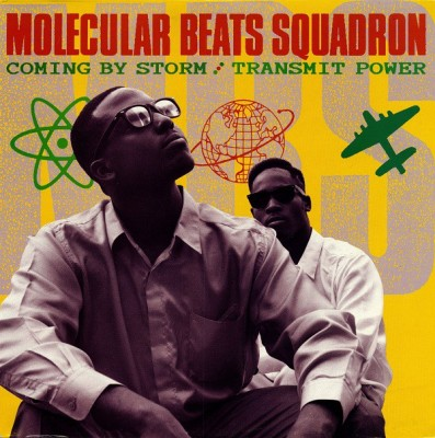 Molecular Beats Squadron - Coming By Storm / Transmit Power
