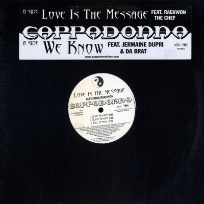 Cappadonna - Love Is The Message / We Know