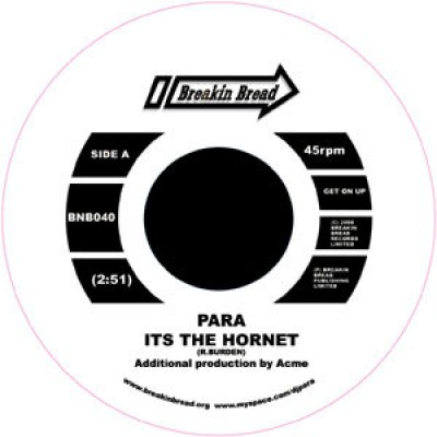 DJ Para - Its The Hornet