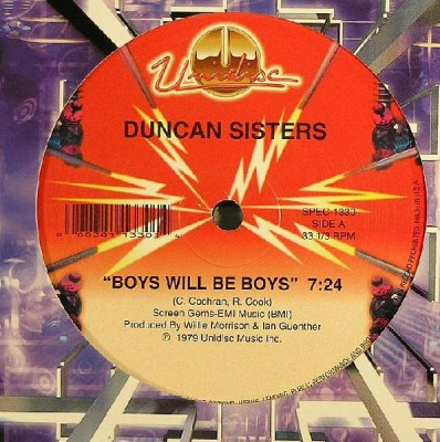 Duncan Sisters / Chemise - Boys Will Be Boys / She Can't Love You