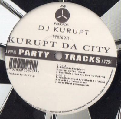DJ Kurupt - Kurupt Da City