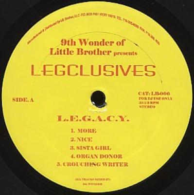 L.E.G.A.C.Y. - Legsclusives