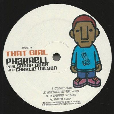 Pharrell Williams feat Snoop Dogg And Charlie Wilson - That Girl
