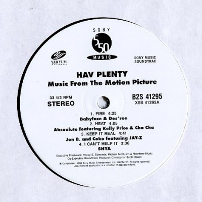 Various - Hav Plenty - Music From The Motion Picture