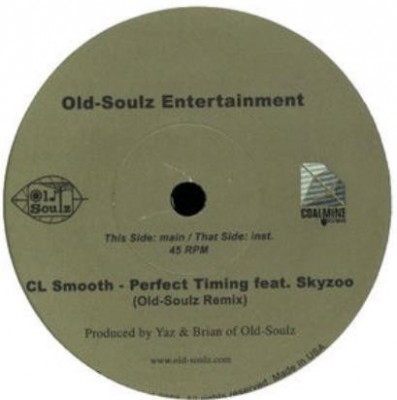 C.L. Smooth - Perfect Timing (Old-Soulz Remix)