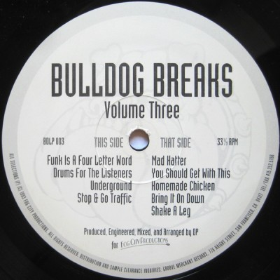 Fog City Productions - Bulldog Breaks Volume Three