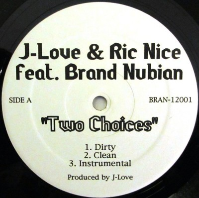 J-Love - Two Choices