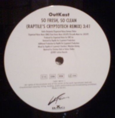 OutKast - So Fresh, So Clean (Raptile's Cryptotech Remix)