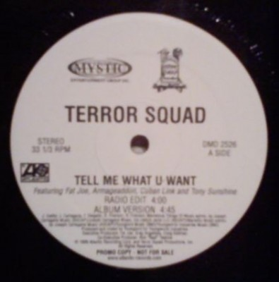 Terror Squad - Tell Me What U Want