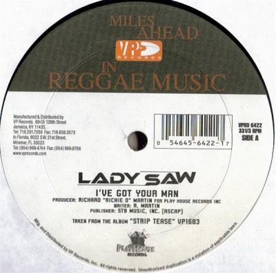 Lady Saw - I've Got Your Man
