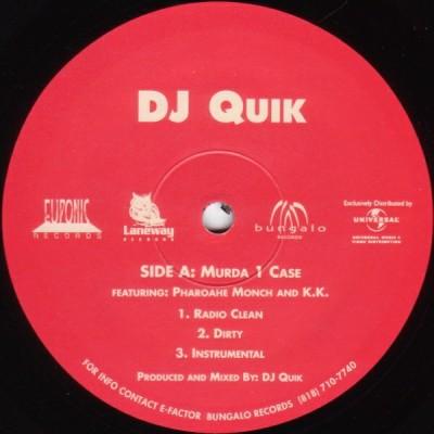 DJ Quik - Murda 1 Case / Trouble (Remix Part 3)