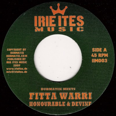 Dubmatix Meets Fitta Warri / Aldubb - Honourable & Devine