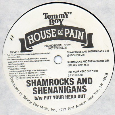 House Of Pain - Shamrocks And Shenanigans (Boom Shalock Lock Boom)