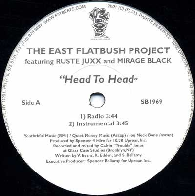 East Flatbush Project - Head To Head
