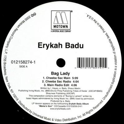 Erykah Badu - Bag Lady