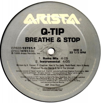 Q-Tip - Breathe & Stop