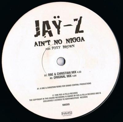 Jay-Z - Ain't No Nigga