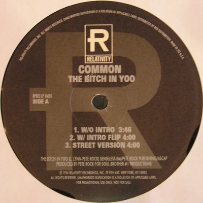 Common - The Bitch In Yoo / The Real Weight