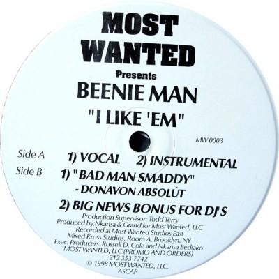Beenie Man - I Like 'Em