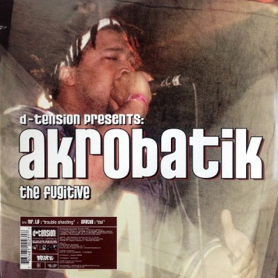D-Tension Presents Akrobatik / Apathy / Mr. Lif - The Fugitive / D.S.L. / Trouble Shooting