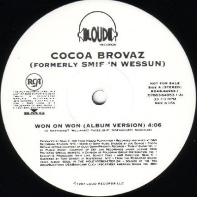 Cocoa Brovaz - Won On Won
