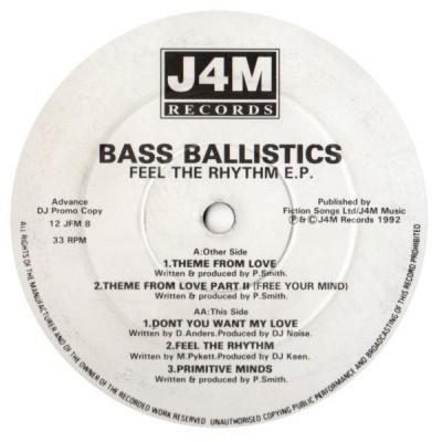Bass Ballistics - Feel The Rhythm E.P.