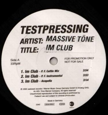Massive Töne - Im Club / Deutschrap