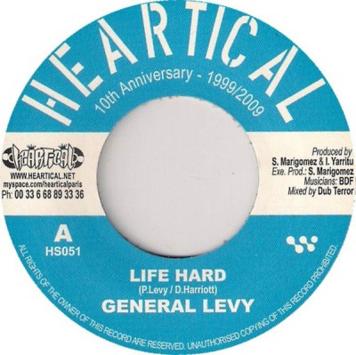 General Levy / Basque Dub Foundation - Life Hard / Midnight Organ